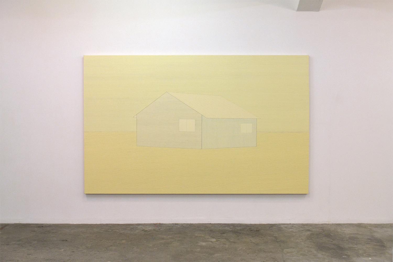 家|House #9|Oil on cancas|170 x 273 cm|2010