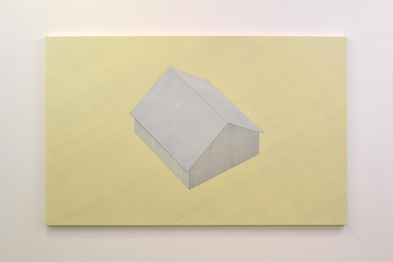 家|House #16|Oil on cancas|136 x 216 cm|2011