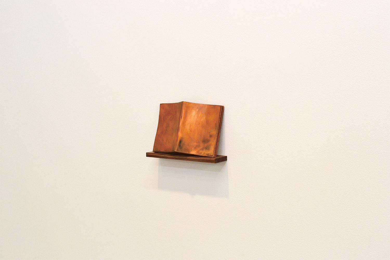 note book #13|copper|155 x 230 x 20 mm|2011