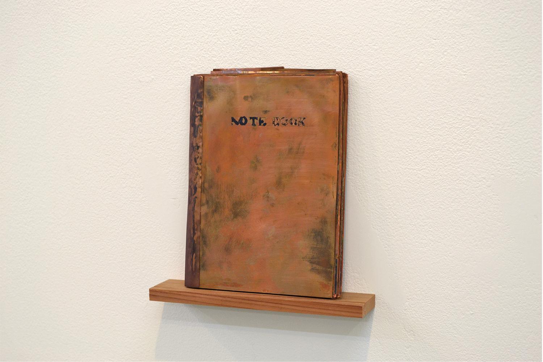 note book #21|copper|175 x 130 x 15 mm|2011