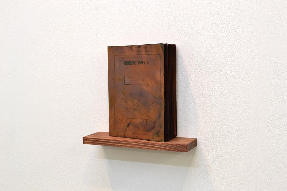 note book #22|copper|155 x 120 x 40 mm|2011