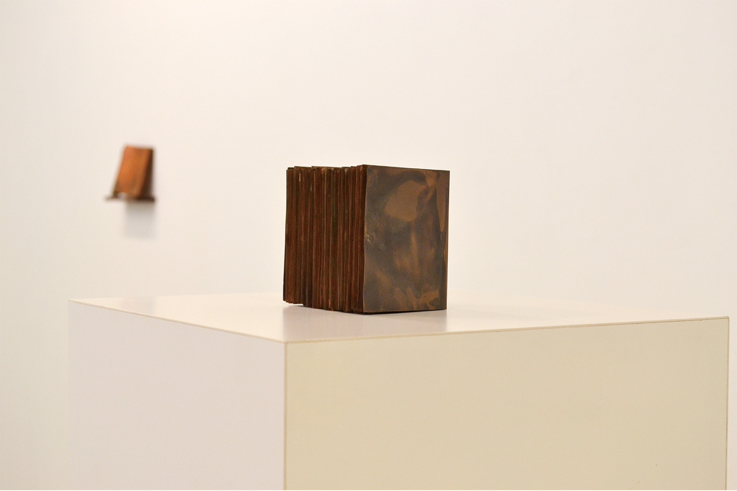 note book #24|copper|100 x 85 x 70 mm|2011