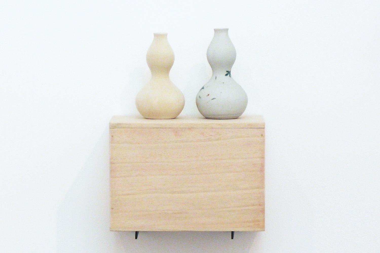 形態模型|陶土・陶器・桐製箱・綿布|490 x 220 x 152 mm|2009