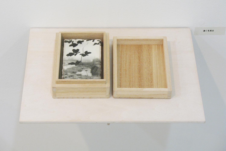 遠くを見る|和紙にゼラチンシルバープリント・桐製箱|113 × 155 × 30 mm|2009