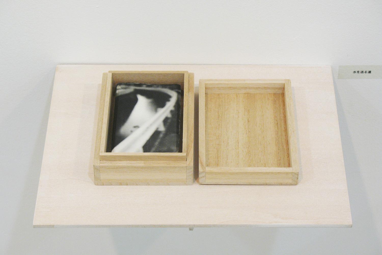 水を送る道|和紙にゼラチンシルバープリント・桐製箱|113 × 155 × 30 mm|2009