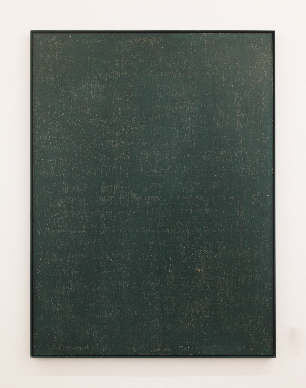 black・board|Black board paint, cotton on panel, iron|1195 x 895 x 30 mm|2020<br>¥150,000-300,000