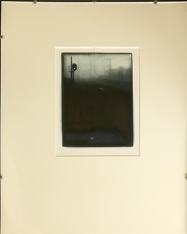 線路/Railroad|Gelatine silver print on glass barium paper|420 x 350 x 50 mm|1999<br>Sold