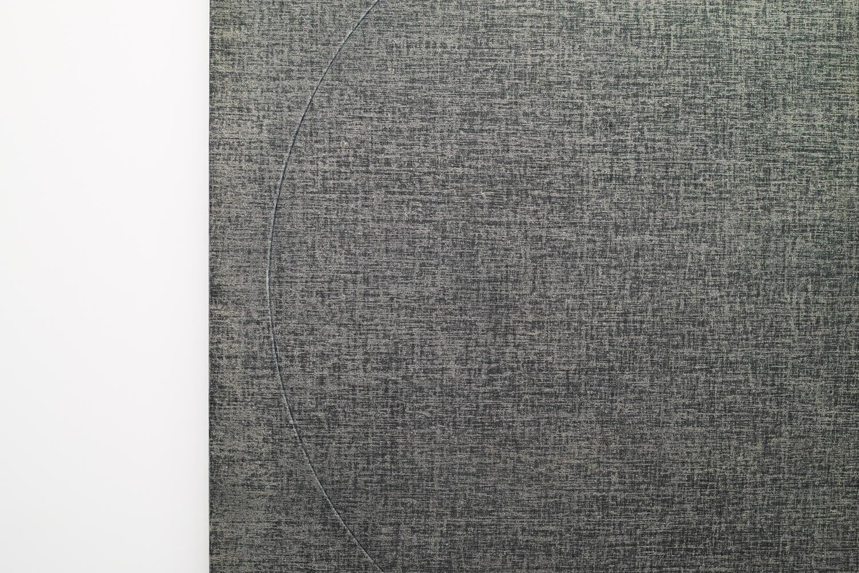 <b>五十嵐彰雄|Akio igrashi</b><br>Drawing by Drawing 80-2<br>oil on canvas<br>194 x 194 cm 1980