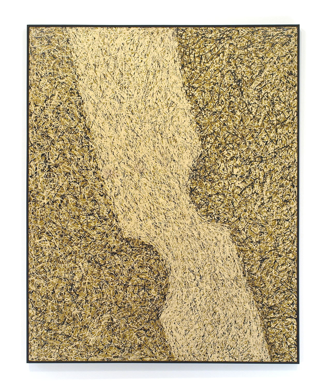 Enamel on canvas|161.5 x 130.5 cm|c.1964