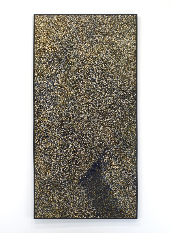 Enamel on linen & wood pane1|183.0 x 92.5 cm|1968.6|国立国際美術館蔵