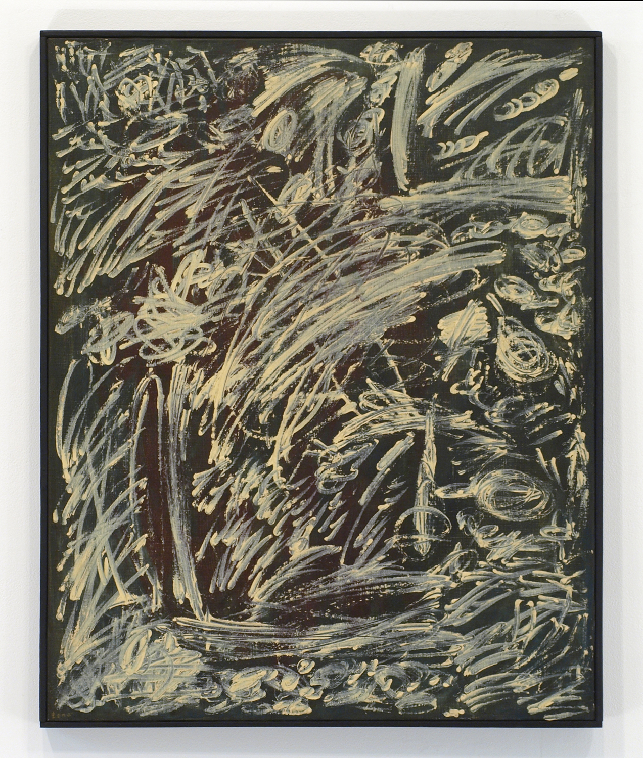 Oil on canvas|90.9 x 72.7 cm|1959.August