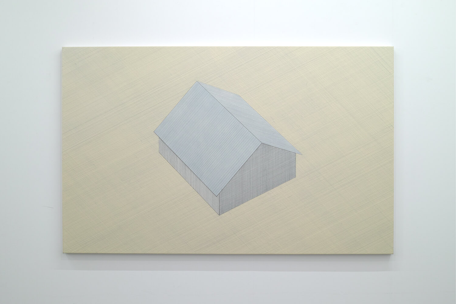 <strong>家#16</strong><br>oil on canvas, 136 x 210 cm, 2011