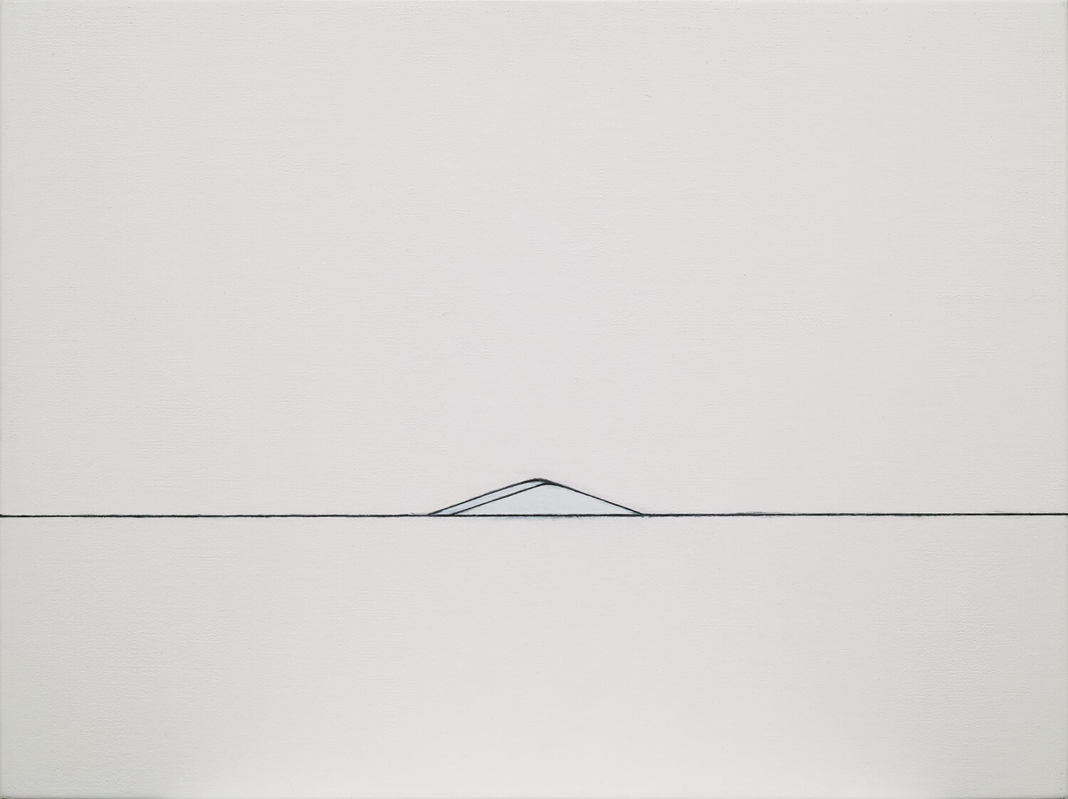 <strong>山脈2002-2005(03)</strong><br>oil on canvas, 48 x 64 cm, 2002
