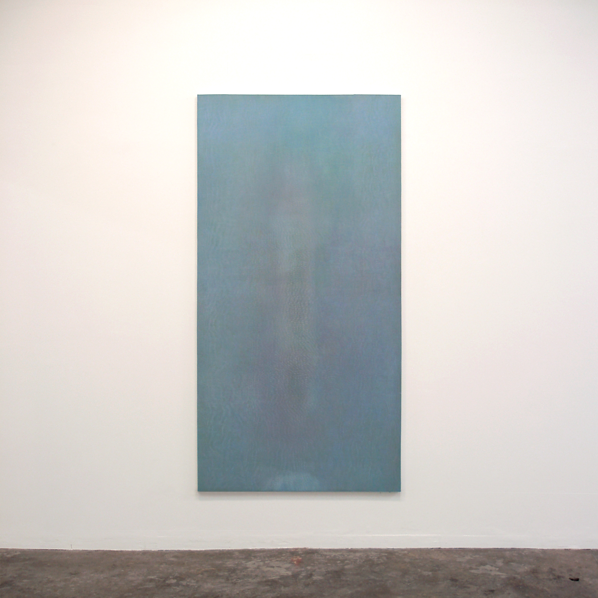 Floating shadow #3|浮影 #3|Panel, acrylic, polyester organza|182 x 910 mm|2007