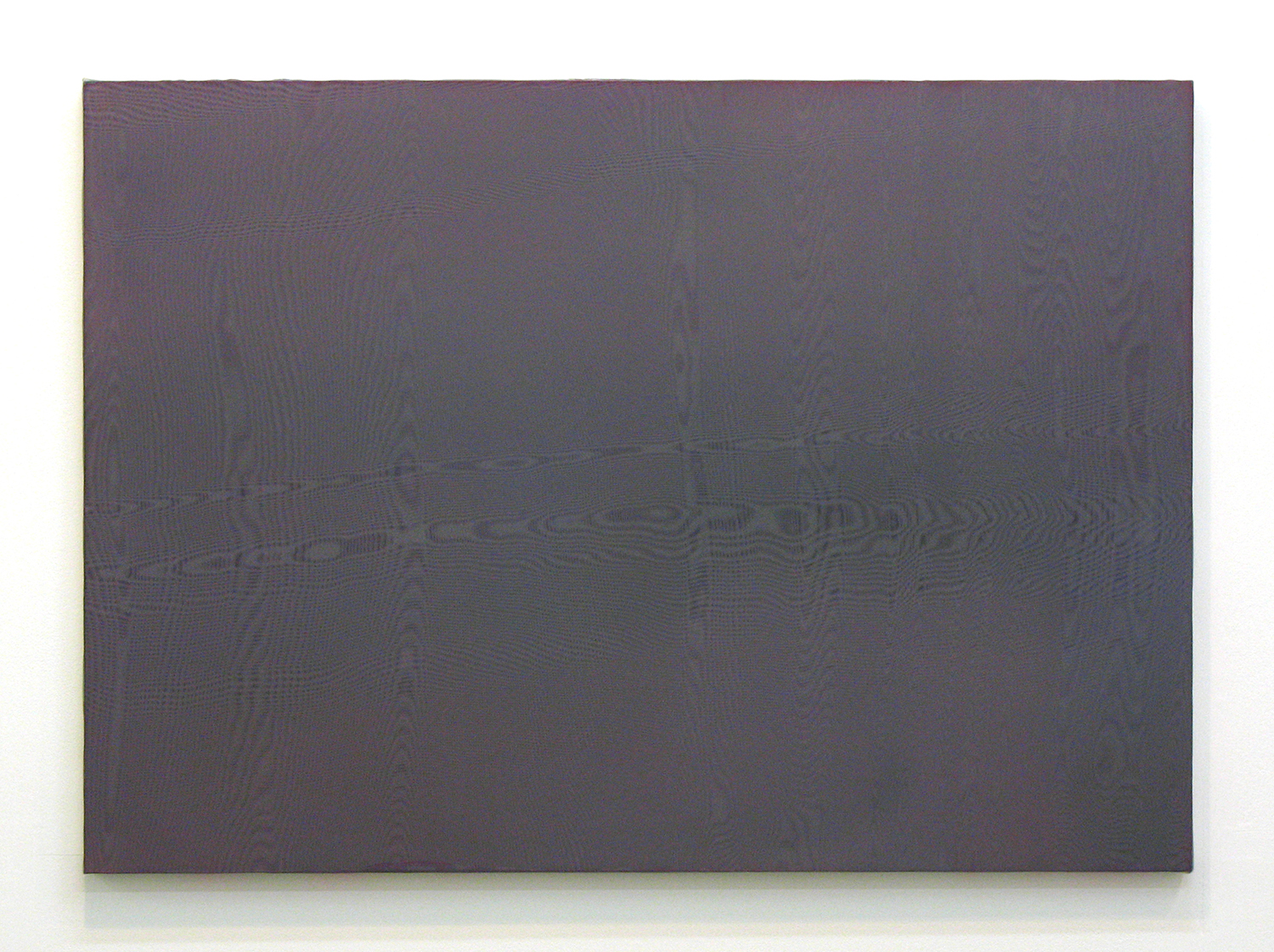 afterglow #2|残光 #2|panel, stainless steel sheet, glass organdy, acrylic|594 x 840 mm|2008