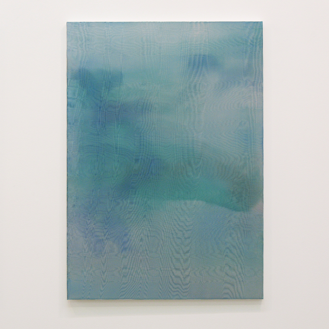 水生夢 (aquatic dream)|panel, stainless steel sheet, glass organdy, acrylic|840  x 594 mm|2009