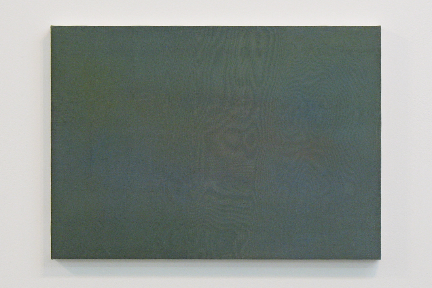 中空 0906 (hollowness 0906)|panel, stainless steel sheet, glass organdy, acrylic|363  x 515 mm|2009