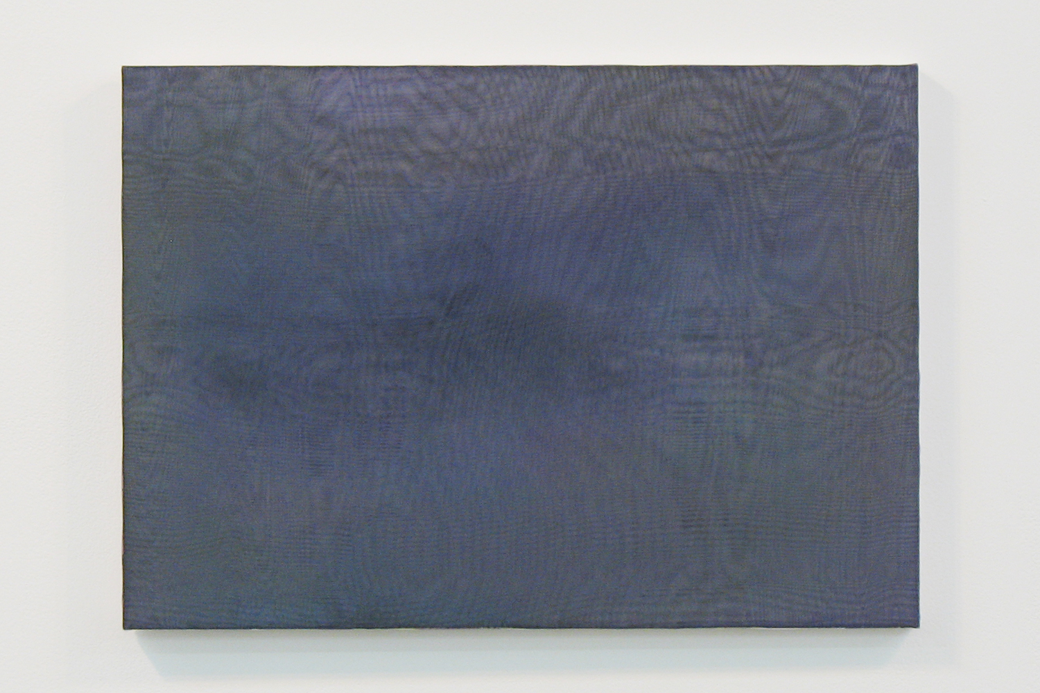 中空 0907 (hollowness 0907)|panel, stainless steel sheet, glass organdy, acrylic|363  x 515 mm|2009