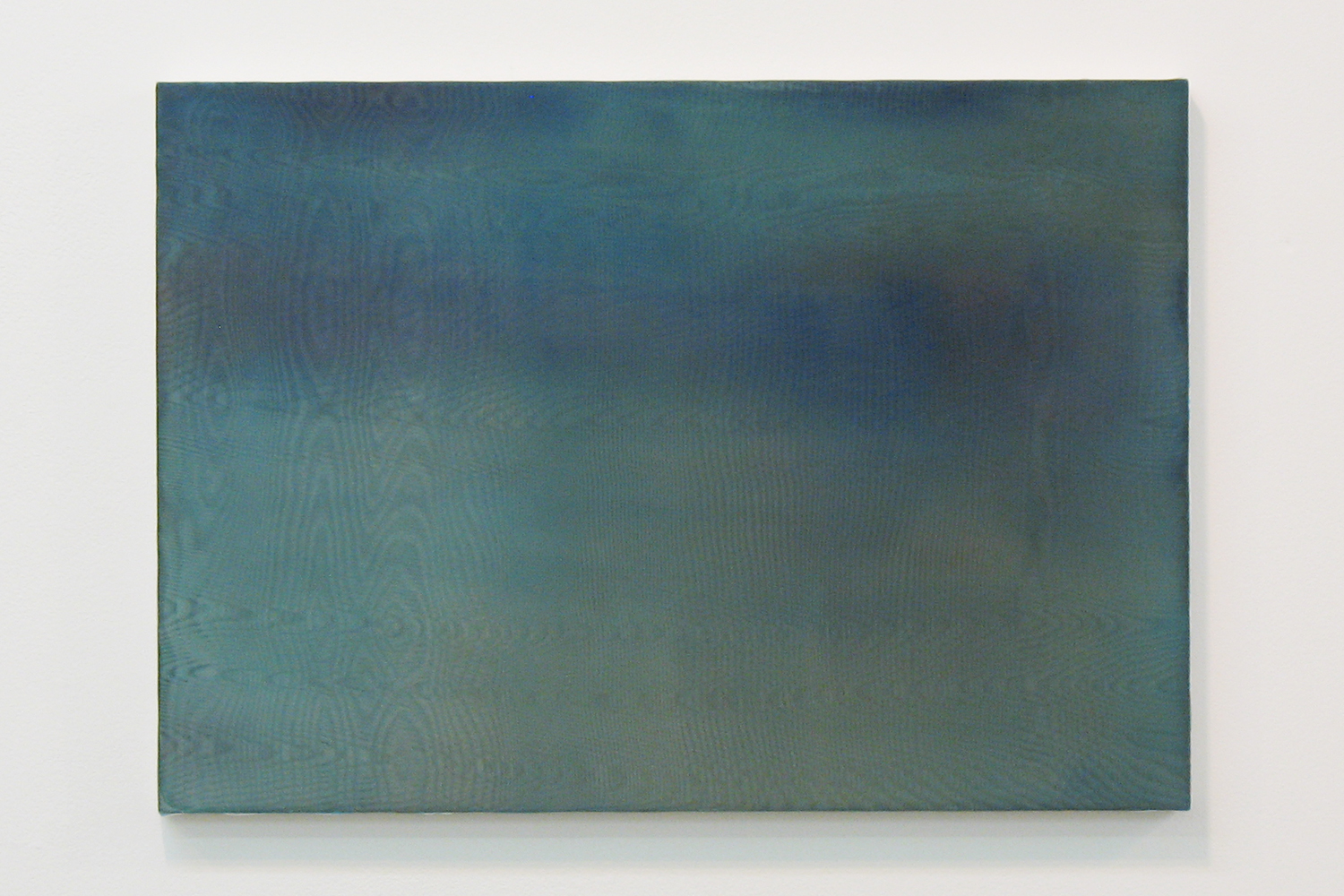 中空 0908 (hollowness 0908)|panel, stainless steel sheet, glass organdy, acrylic|363  x 515 mm|2009