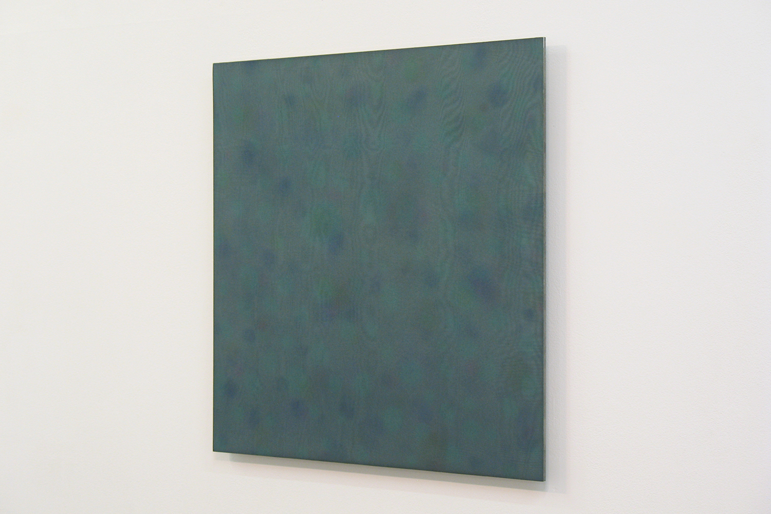 Untitled MV|Acrylic board, stainless steel sheet, glass organdy, acrylic paint|60 x 60 cm|2011