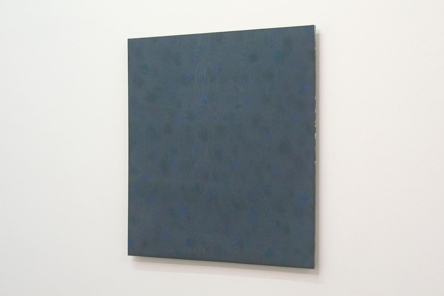 Untitled C|Acrylic board, stainless steel sheet, glass organdy, acrylic paint|60 x 60 cm|2011
