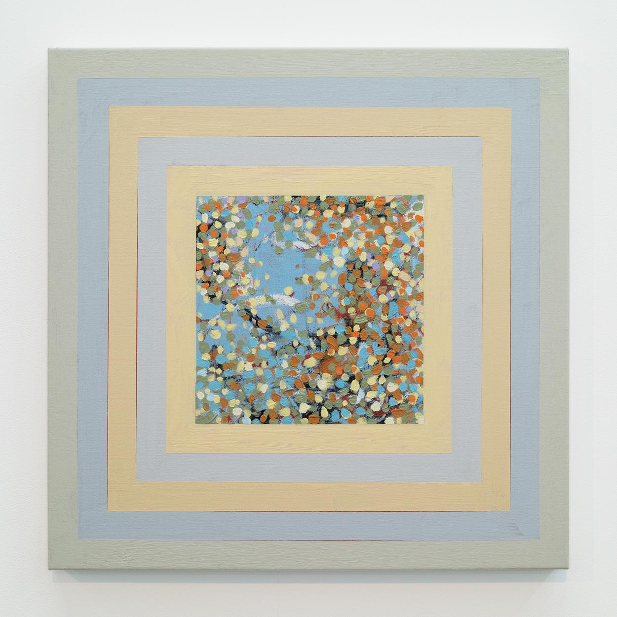 サイモン・フィッツジェラルド (SIMON FITZGERALD)|Always in Autumn|Oil on Linen|53 × 53cm|2017<br>¥250,000 - 500,000
