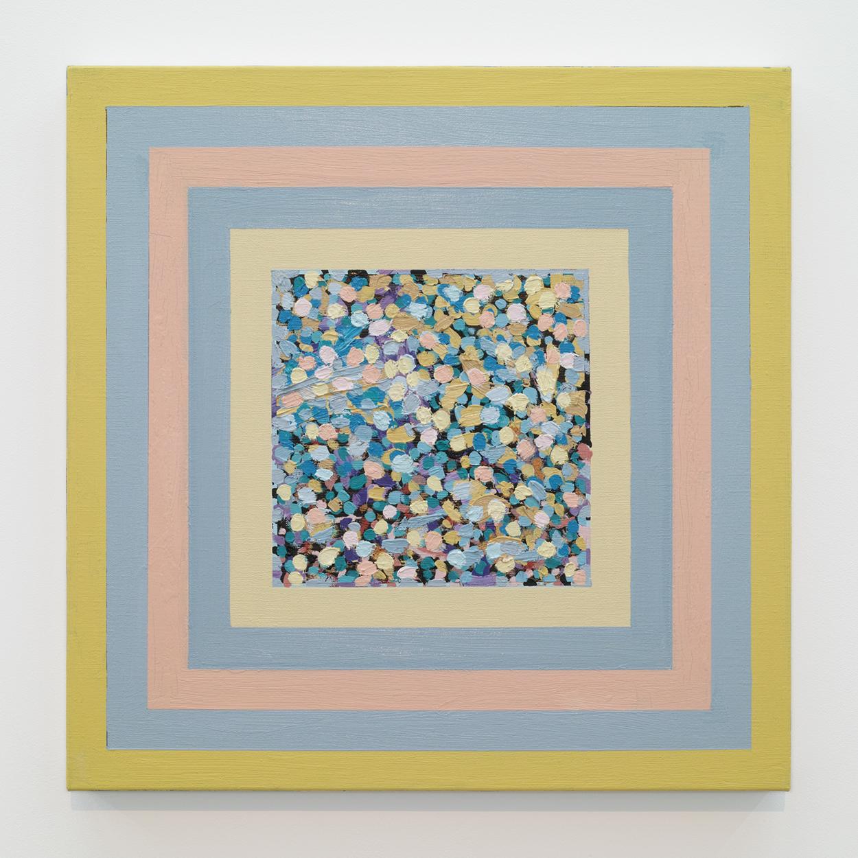 サイモン・フィッツジェラルド (SIMON FITZGERALD)|Twilight Dream|Oil on Linen|53 × 53cm|2017<br>¥250,000 - 500,000