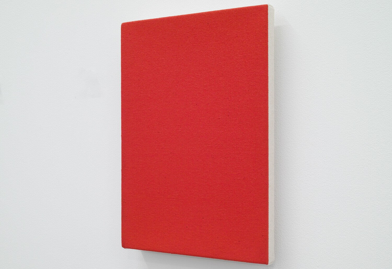 Text No.608 / (light) ink, acrylic medium on canvas, 2232 x 160 x 28 mm, 2006