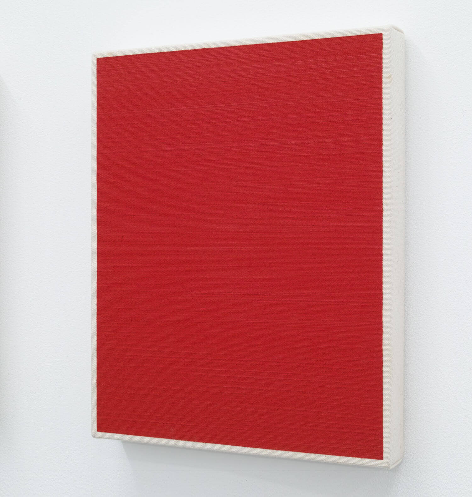 Text No.479 / oil, pigment on cotton, 278 x 220 x 33 mm, 2004