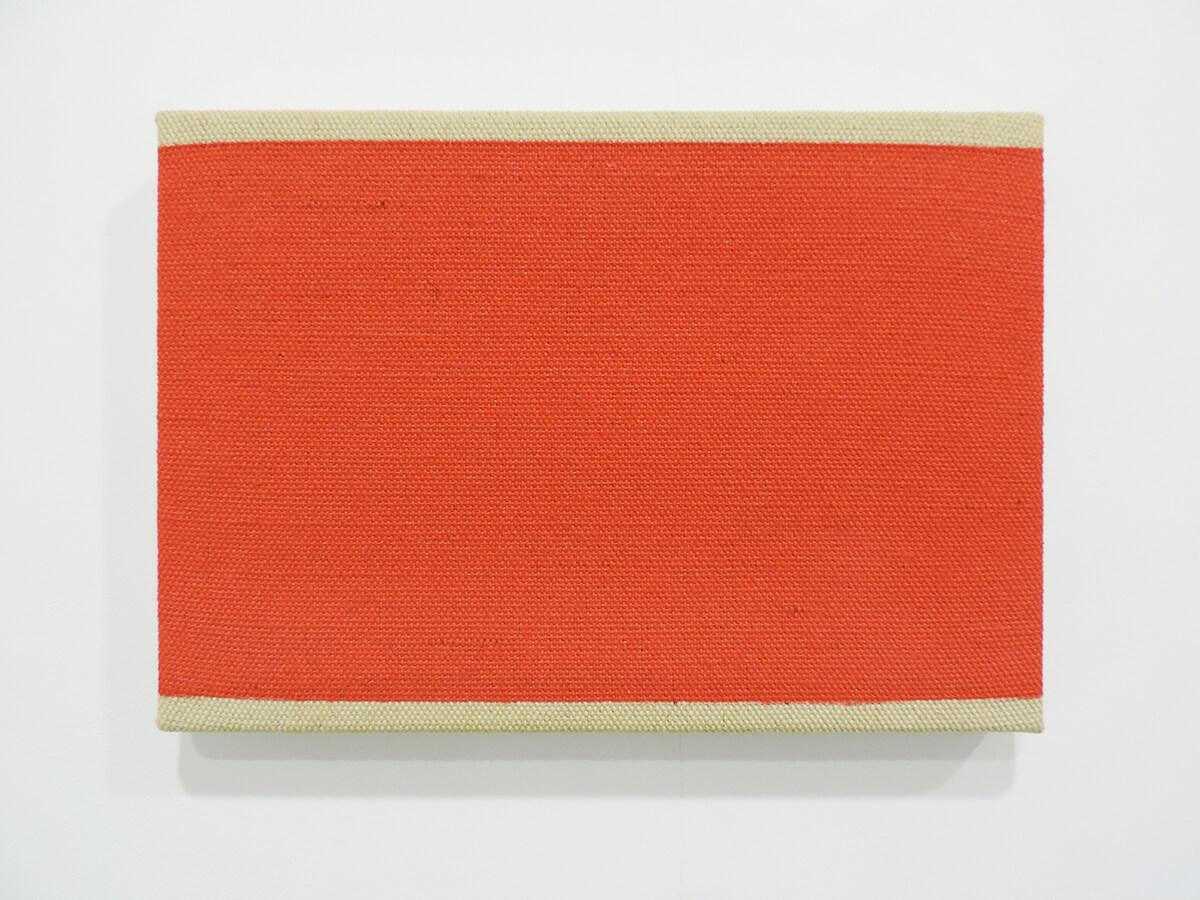 Text No. 1010 / Acrylic, ink on canvas , 16 x 23.2 x 2.3 cm each , 2014