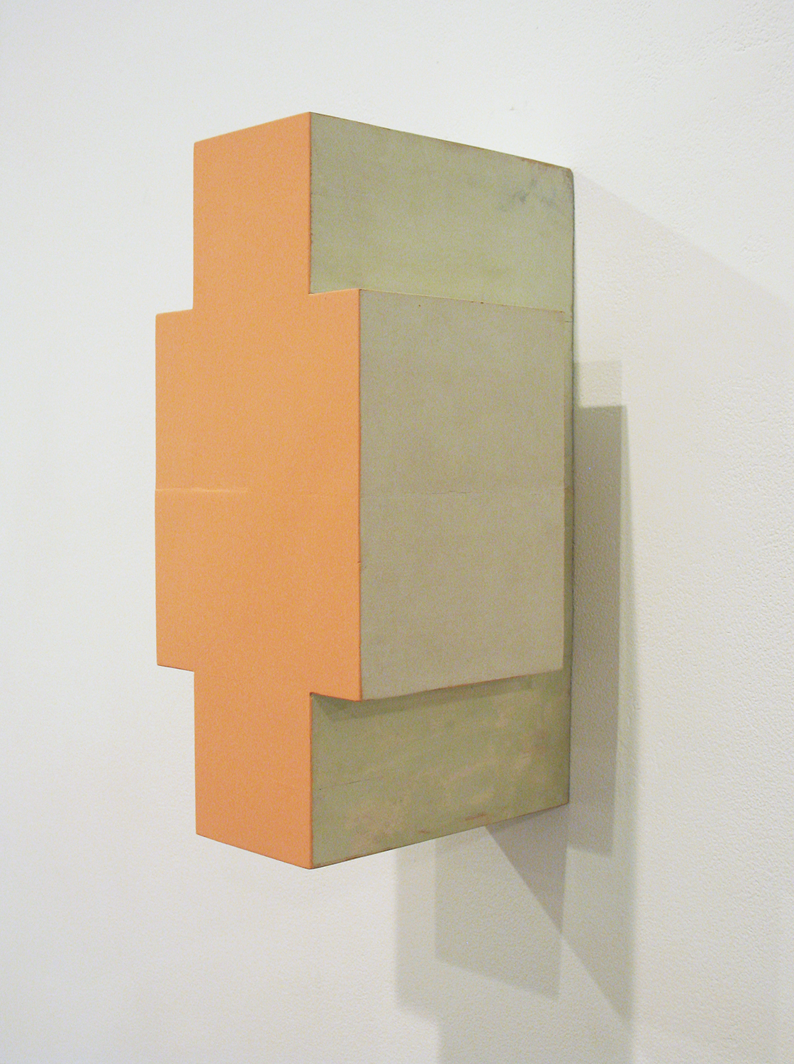TS9308|Colour gesso on laminated soft wood|37.5 x 17 x 20 cm|1993