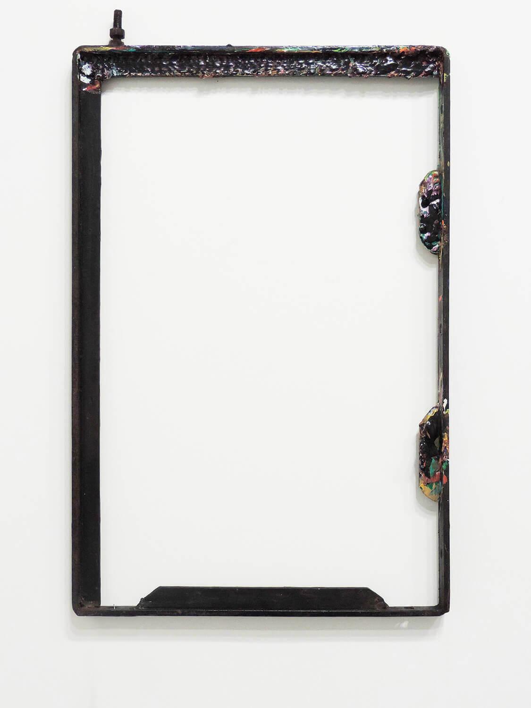 <b>Untitled</b><br>Acrylic on iron 55 x 34.2 x 2.7 cm 2013