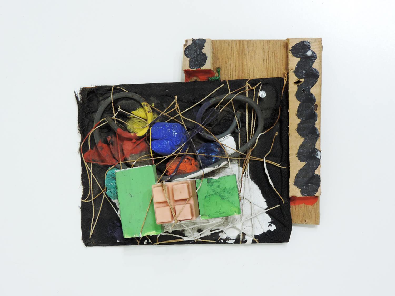 <b>Untitled</b><br>Mixed media 17.5 × 15 × 6.5 cm 1984
