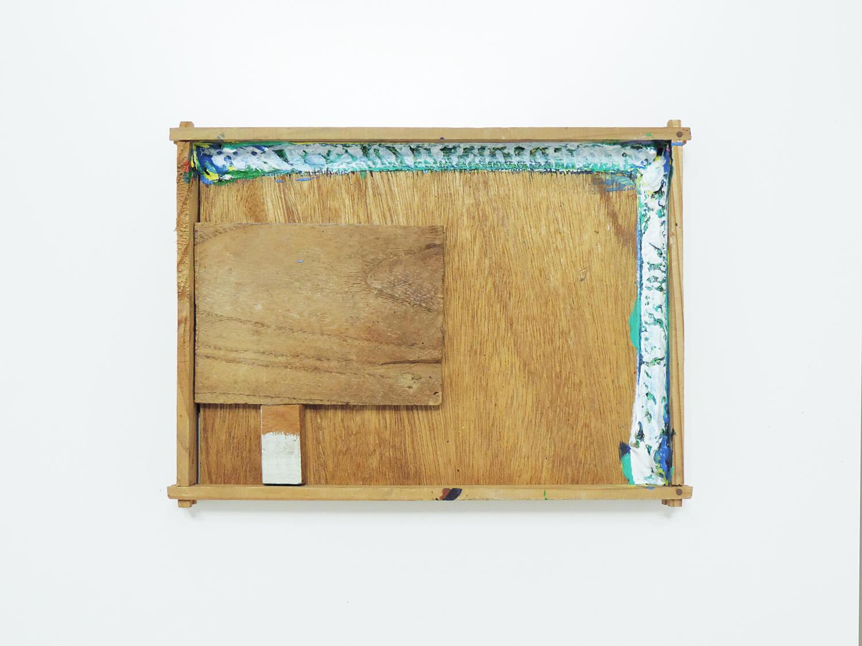 <b>Untitled</b><br>Acrylic, wood 28.3 x 21 x 3.5 cm 1994