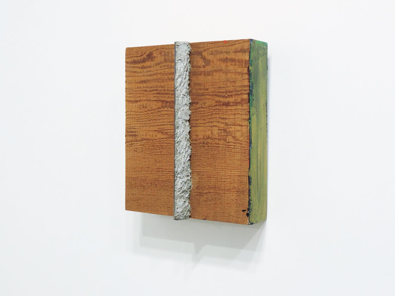 <b>Untitled</b><br>Acrylic, mortar, mirror and wood 28.2 x 24 x 9.1 cm 2007