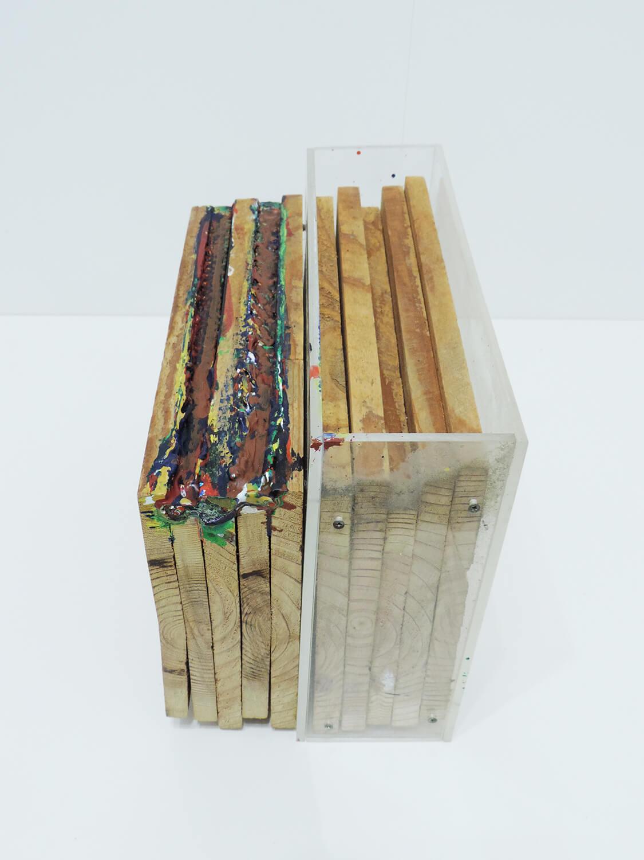 <b>Untitled</b><br>Acrylic on wood and acrylic box 17 x 29 x 23.1 cm 2008