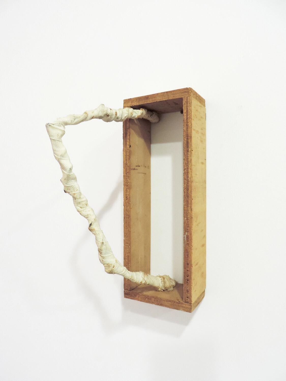 <b>Untitled</b><br>Cloth, wire, wood 21.8 × 7.8 ×12 cm 1976