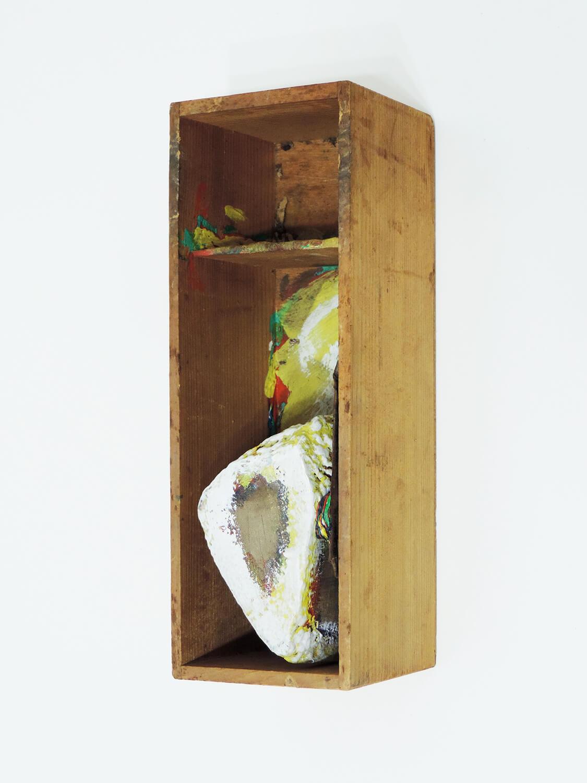 <b>Untitled</b><br>Acrylic on wood 30 × 10.5 × 11 cm 1980