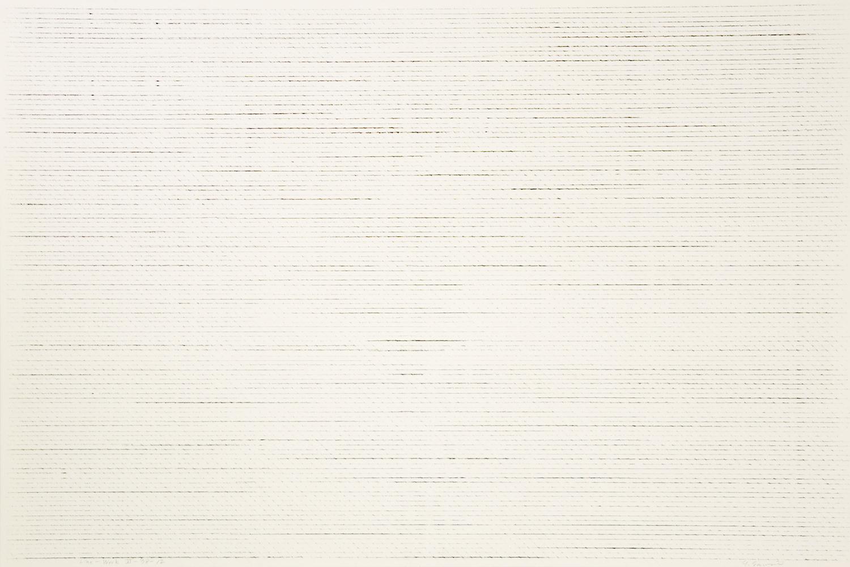 Line-Work VI-78-12|Crayon on Kent paper|60 x 90 cm|1978