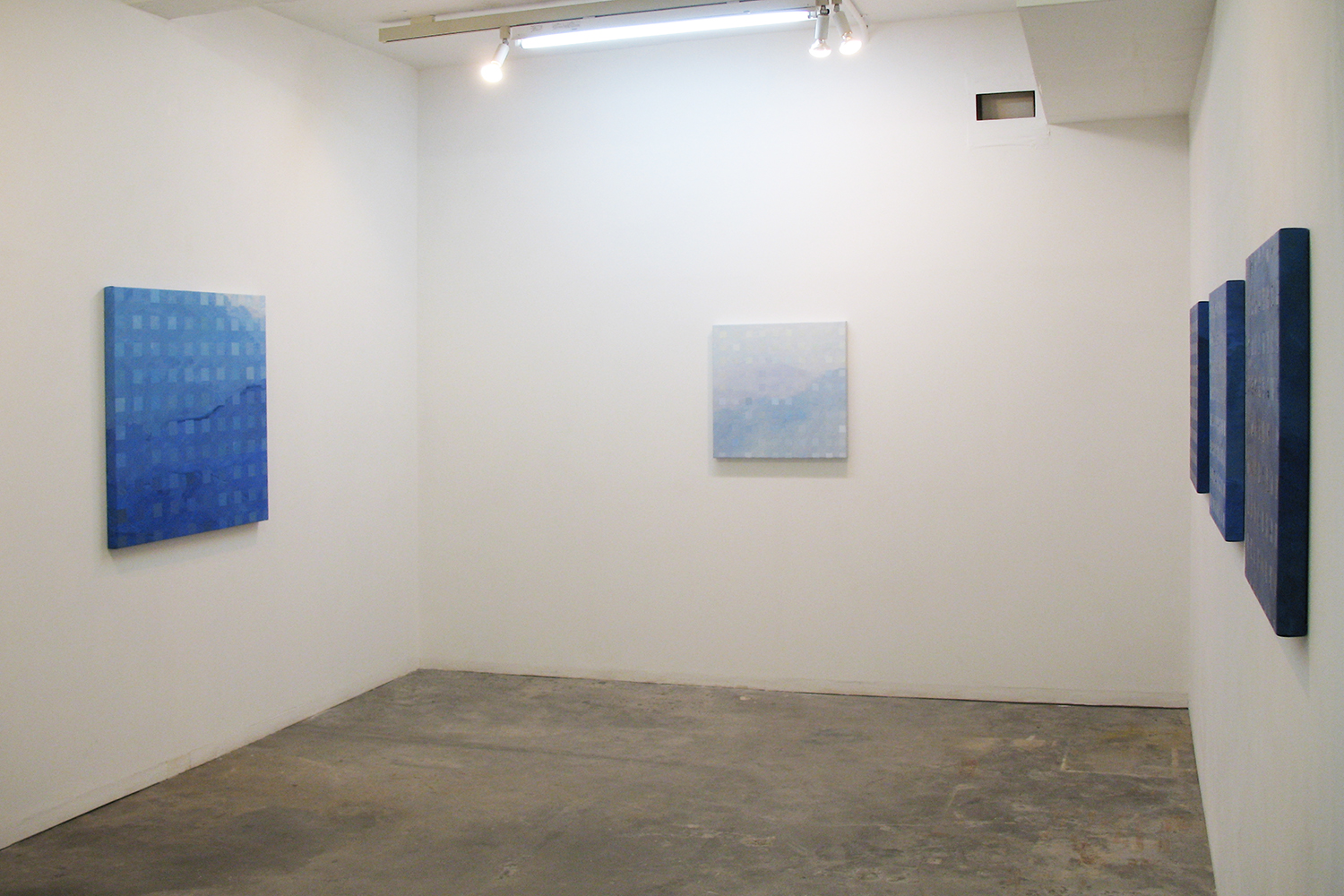 Installation view: Color-Work series