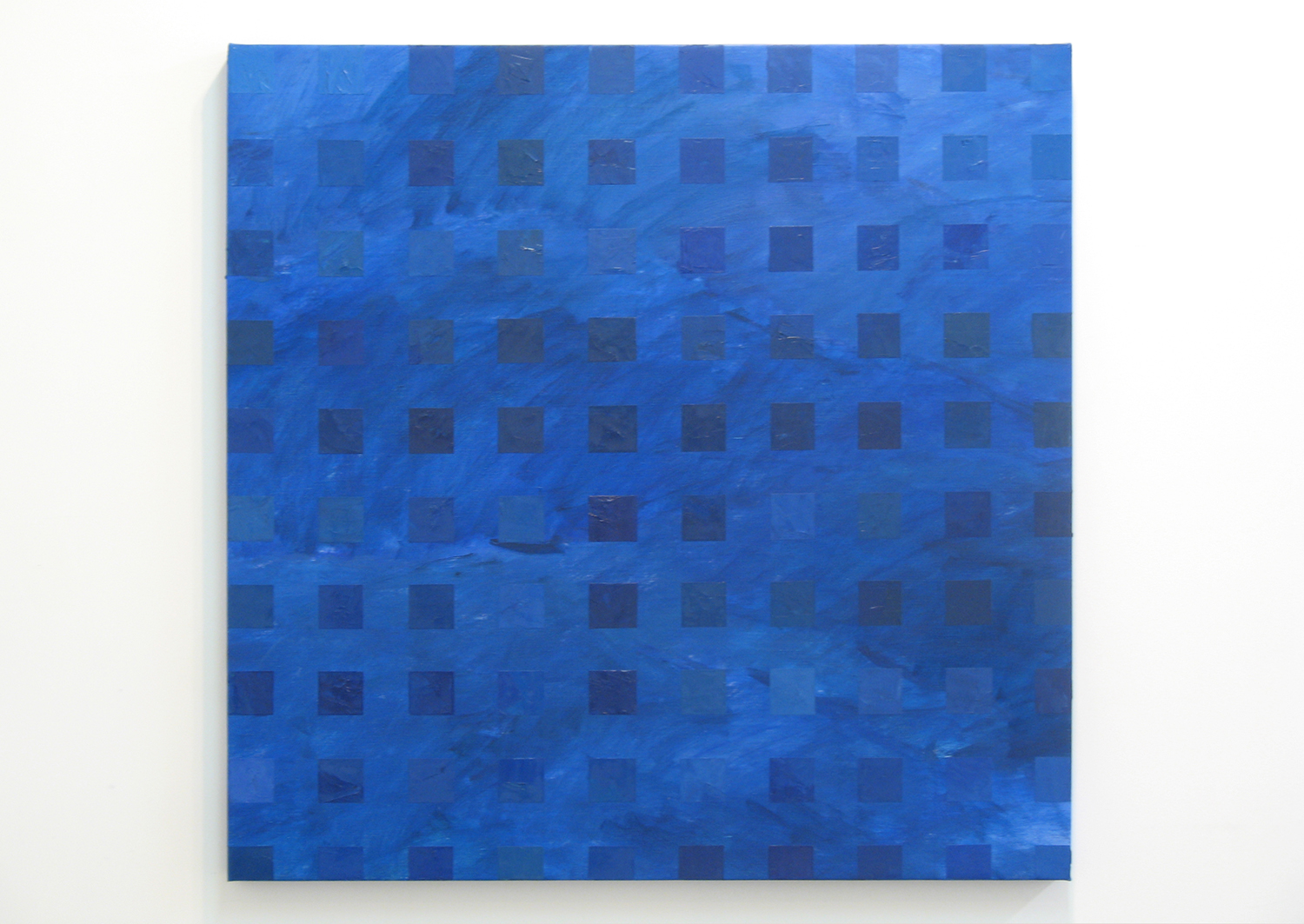 Color-Work '06-I|oil on canvas|90 x 90 cm|2006