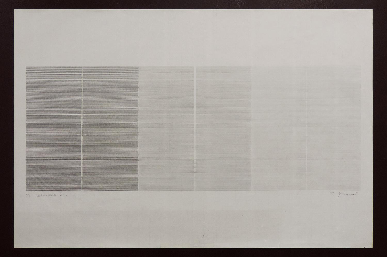 Carbon-Work II-7|Shoji paper, Carbon|60 x 90 cm|1977