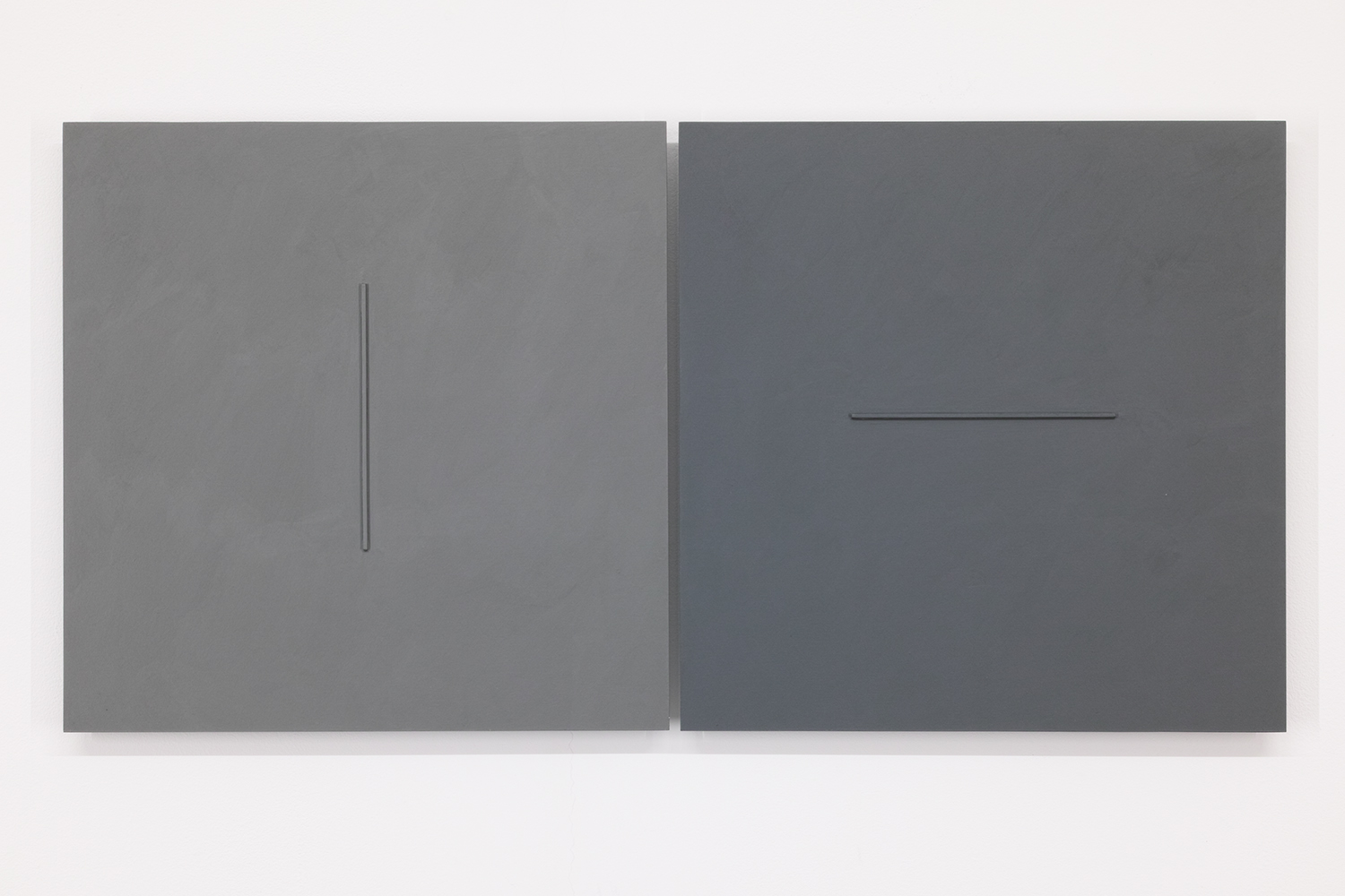 TS1816<br>Colour Gesso on Panel, 30 x 30 cm each (set of 2), 2018