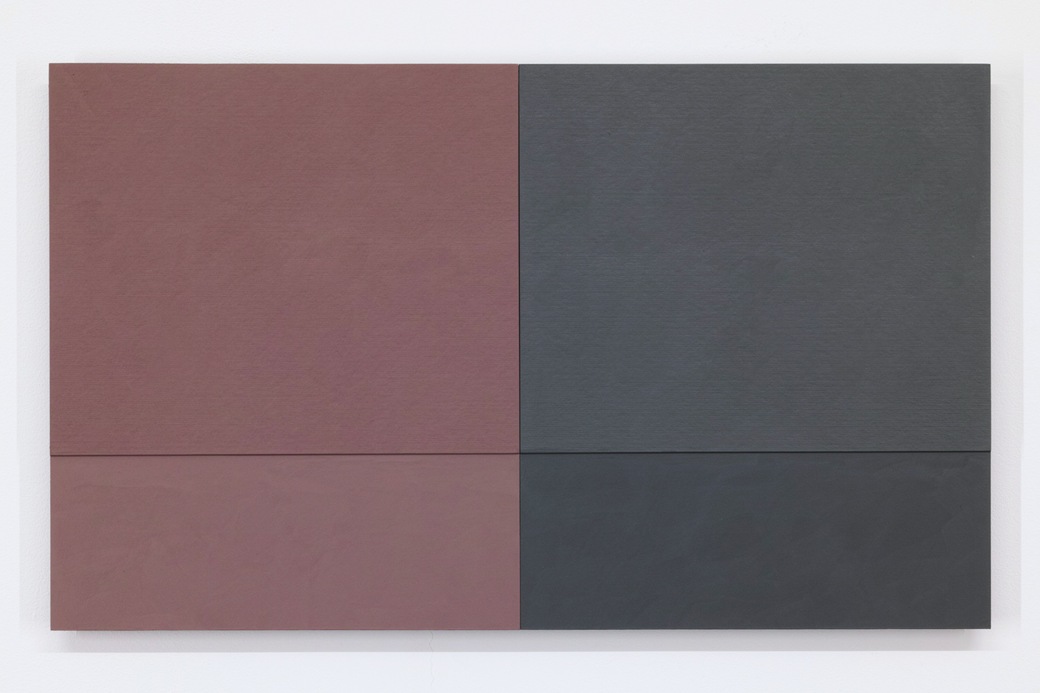 TS1819<br>Colour Gesso on Panel, 30 x 25 cm each (set of 2), 2018