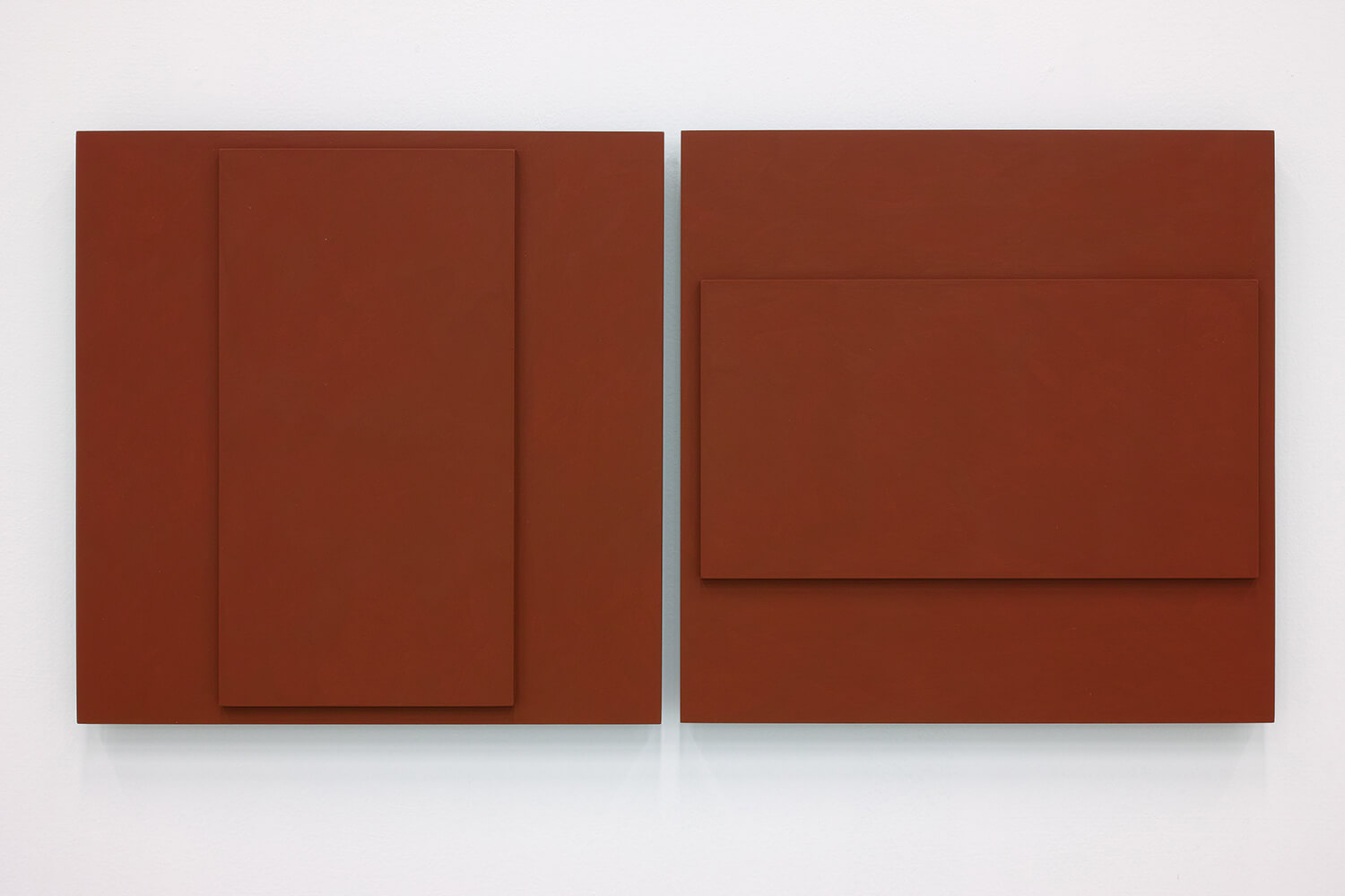 TS1813<br>Colour Gesso on Panel, 41x41cm each, 2018
