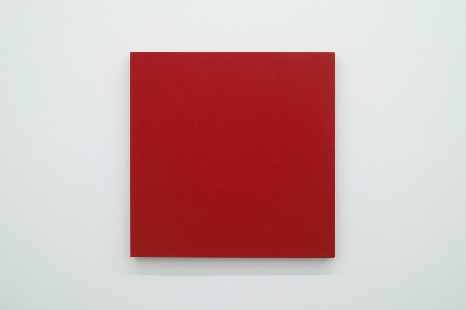 Text No. 470<br>pigment, acrylic on cotton,  653 x 653 x 33 mm,  2004