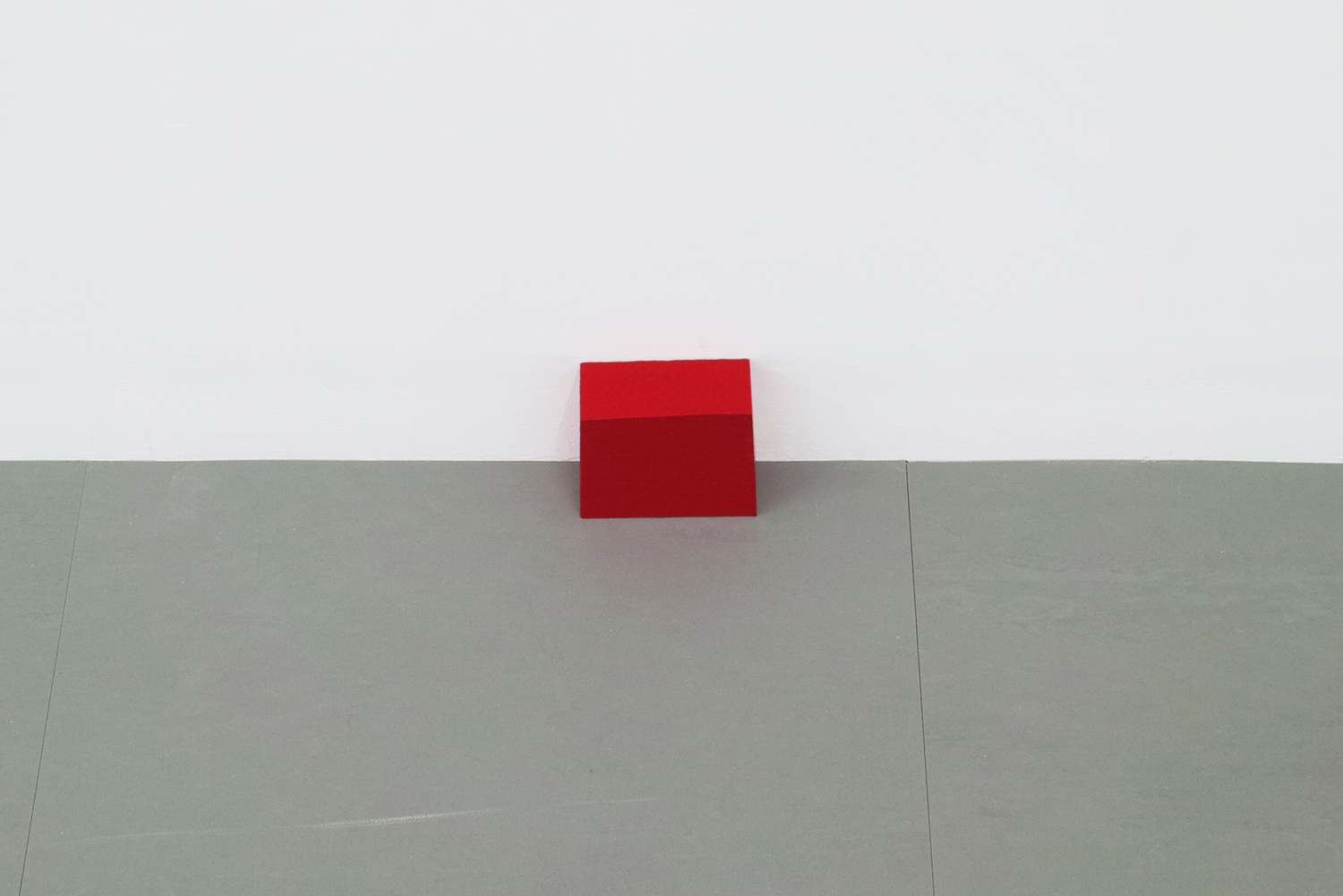 Text No. 391 (Brock))<br>acrylic on wood,  98 x 85 x 43  mm,  2003
