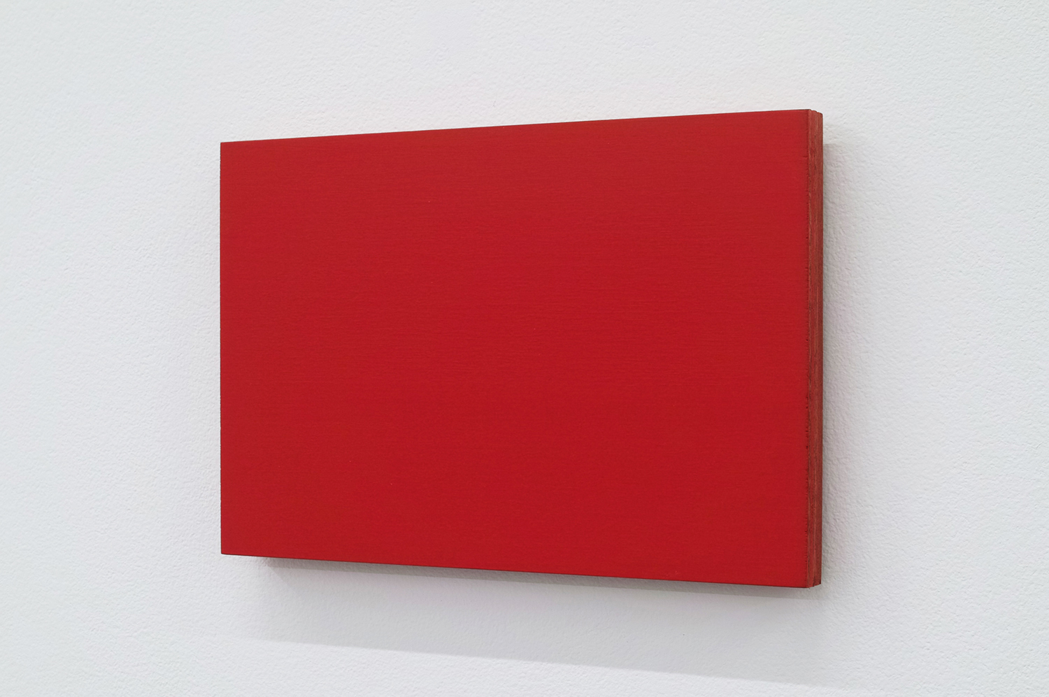 Text No. 572<br>pigment, acrylic on plywood,  150 x 100 x 12 mm,  2006