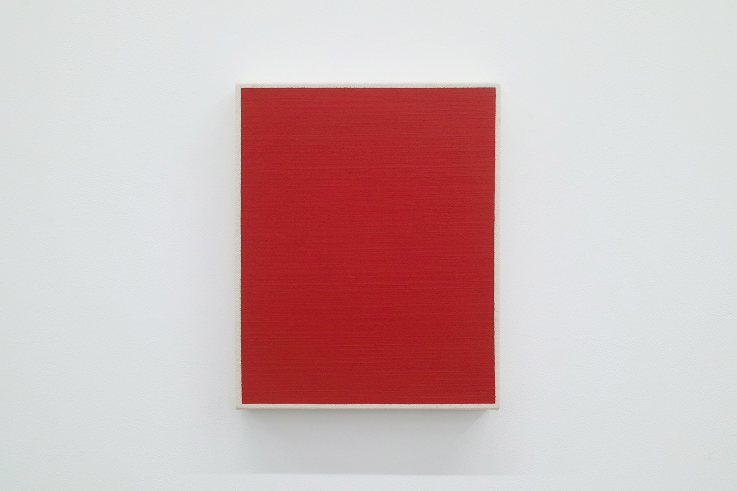 Text No. 479<br>oil, pigment on cotton,  278 x 220 x 33 mm,  2004