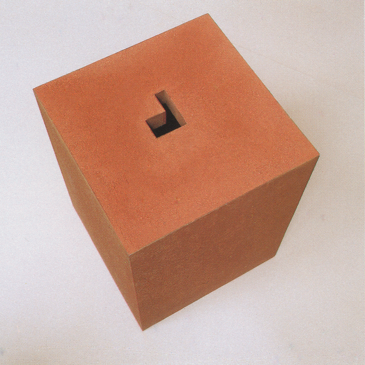 Vessel|iron and red sand|54 x 40 x 40 cm|1992